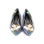 Authentic Second Hand Marc Jacobs Frog Pointed Flats (PSS-A09-00061) - Thumbnail 0