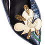 Authentic Second Hand Marc Jacobs Frog Pointed Flats (PSS-A09-00061) - Thumbnail 7