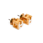 Authentic Second Hand Hermès Cage d'H Earrings (PSS-A09-00059) - Thumbnail 2