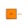 Authentic Second Hand Hermès Cage d'H Earrings (PSS-A09-00059) - Thumbnail 4
