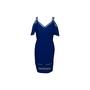 Authentic Second Hand Tadashi Shoji Pintuck Bandage Dress (PSS-634-00009) - Thumbnail 0
