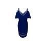 Authentic Second Hand Tadashi Shoji Pintuck Bandage Dress (PSS-634-00009) - Thumbnail 1