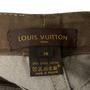 Authentic Second Hand Louis Vuitton Cotton Denim Skirt  (PSS-067-00331) - Thumbnail 4