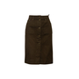 Authentic Second Hand Louis Vuitton Cotton Denim Skirt  (PSS-067-00331) - Thumbnail 0