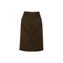 Authentic Second Hand Louis Vuitton Cotton Denim Skirt  (PSS-067-00331) - Thumbnail 1