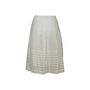 Authentic Second Hand Prada Pleated Flare Skirt (PSS-067-00336) - Thumbnail 1
