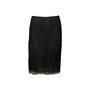 Authentic Second Hand Prada Shimmery Black Skirt (PSS-067-00337) - Thumbnail 0