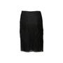 Authentic Second Hand Prada Shimmery Black Skirt (PSS-067-00337) - Thumbnail 1