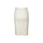 Authentic Second Hand Gucci Front Slit Denim Skirt (PSS-067-00338) - Thumbnail 1