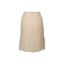 Authentic Second Hand Chanel Pleated Silk Skirt (PSS-067-00344) - Thumbnail 1