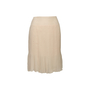 Authentic Second Hand Chanel Pleated Silk Skirt (PSS-067-00344) - Thumbnail 0