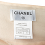 Authentic Second Hand Chanel Pleated Silk Skirt (PSS-067-00344) - Thumbnail 3