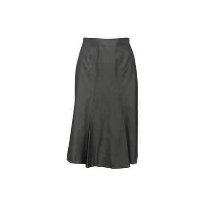 Authentic Second Hand Prada Pleated Hem Skirt (PSS-067-00334)