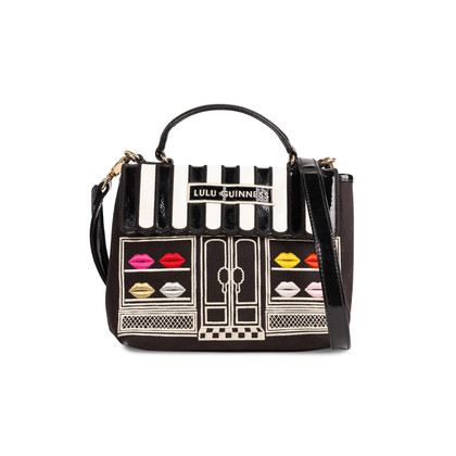 Authentic Second Hand Lulu Guinness Lips Shop Bag (PSS-247-00243)