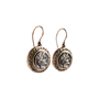 Authentic Second Hand Marcello Fontana Rose Gold Coin Earrings (PSS-247-00245) - Thumbnail 1