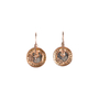 Authentic Second Hand Marcello Fontana Rose Gold Coin Earrings (PSS-247-00245) - Thumbnail 2