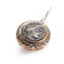 Authentic Second Hand Marcello Fontana Rose Gold Coin Earrings (PSS-247-00245) - Thumbnail 4
