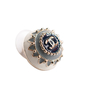 Authentic Second Hand Chanel CC Round Enamel Earrings (PSS-247-00238) - Thumbnail 4