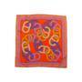 Authentic Second Hand Hermès Circuit 24 Faubourg Pocket Square (PSS-A09-00057) - Thumbnail 1