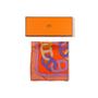Authentic Second Hand Hermès Circuit 24 Faubourg Pocket Square (PSS-A09-00057) - Thumbnail 5