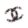 Authentic Second Hand Chanel Pearl Logo Earrings (PSS-A09-00038) - Thumbnail 4