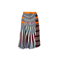 Authentic Second Hand Peter Pilotto Tweed and Printed Crepe-Jersey Skirt (PSS-351-00055) - Thumbnail 1