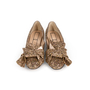 Authentic Second Hand N°21 Glitter Knotted Loafers (PSS-351-00053) - Thumbnail 0