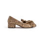 Authentic Second Hand N°21 Glitter Knotted Loafers (PSS-351-00053) - Thumbnail 1