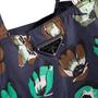 Authentic Second Hand Prada Floral Nylon Shopper Bag (PSS-351-00054) - Thumbnail 6