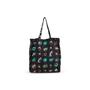 Authentic Second Hand Prada Floral Nylon Shopper Bag (PSS-351-00054) - Thumbnail 2