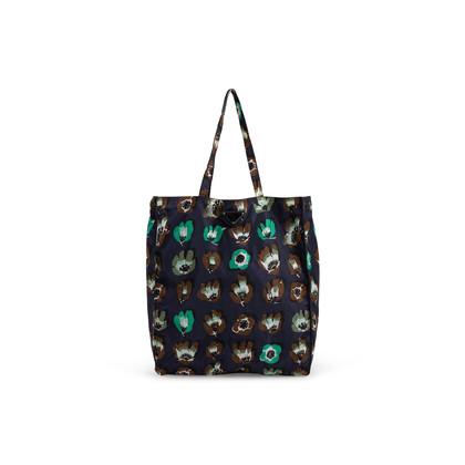 Authentic Second Hand Prada Floral Nylon Shopper Bag (PSS-351-00054)