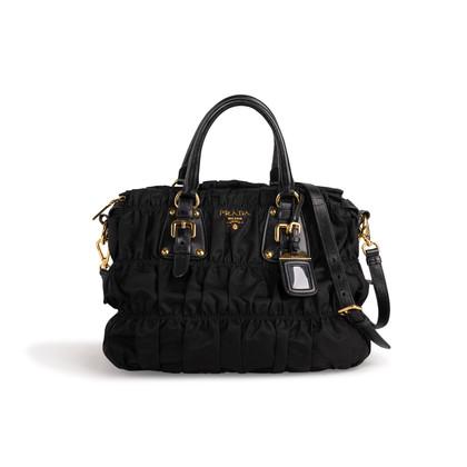 Authentic Second Hand Prada Tessuto Gaufre Bag (PSS-A63-00003)