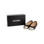 Authentic Second Hand Chanel Two Tone Ballet Flats (PSS-A63-00004) - Thumbnail 9