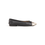 Authentic Second Hand Chanel Two Tone Ballet Flats (PSS-A63-00004) - Thumbnail 1