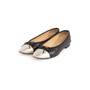 Authentic Second Hand Chanel Two Tone Ballet Flats (PSS-A63-00004) - Thumbnail 3