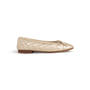 Authentic Second Hand Chanel Quilted Ballerina Flats (PSS-A63-00005) - Thumbnail 1