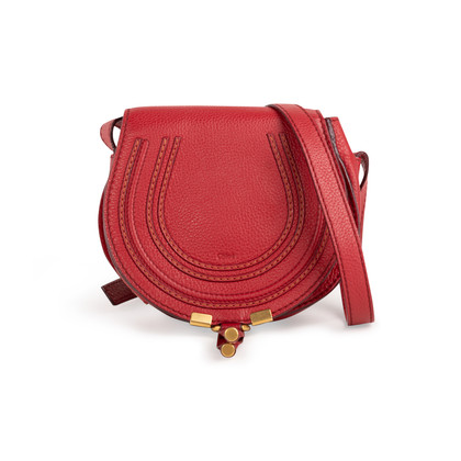 Authentic Second Hand Chloé Mini Marcie Crossbody Bag (PSS-B16-00001)