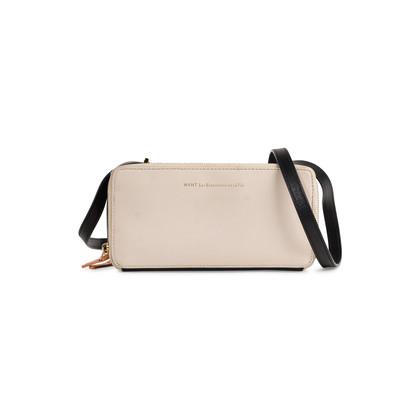 Authentic Second Hand WANT Les Essentiels Two Toned Zip Crossbody Bag (PSS-705-00043)