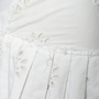 Authentic Second Hand Prada Pleated Floral Eyelet Skirt (PSS-992-00019) - Thumbnail 2