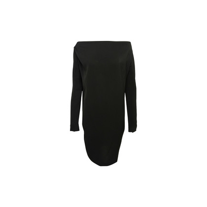 Authentic Second Hand Victoria Beckham Boatneck 3/4 Sleeves Dress (PSS-992-00023)