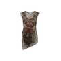 Authentic Second Hand Helmut Lang Abstract Print Tank Top (PSS-992-00024) - Thumbnail 0