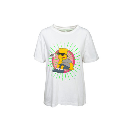 Authentic Second Hand Off-White Bart Simpson T-shirt (PSS-992-00027)