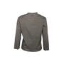 Authentic Second Hand Prada Grey Raw Edge Top (PSS-992-00028) - Thumbnail 1