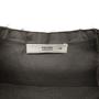 Authentic Second Hand Prada Grey Raw Edge Top (PSS-992-00028) - Thumbnail 2