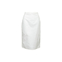 Authentic Second Hand Tomas Maier White Pencil Skirt (PSS-992-00034) - Thumbnail 0