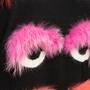 Authentic Second Hand Fendi Monster Eye Fur Turtleneck (PSS-916-00447) - Thumbnail 4