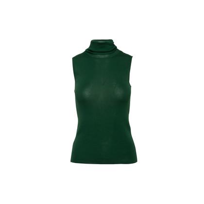 Authentic Second Hand Prada Cotton Knit Turtleneck (PSS-916-00454)