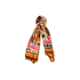 Authentic Second Hand Loewe Illustrated Cashmere Cotton Shawl (PSS-916-00474) - Thumbnail 0