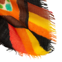 Authentic Second Hand Loewe Illustrated Cashmere Cotton Shawl (PSS-916-00474) - Thumbnail 4
