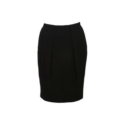 Authentic Second Hand Prada Black Pencil Skirt (PSS-608-00054)